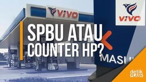 Unik! Ada SPBU Mirip Merek HP di Jakarta Timur