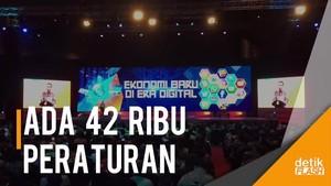 Jokowi: Startup Jangan Dicekik dengan Regulasi Berlebihan