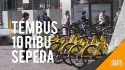 Start-up Sharing Sepeda Asal China Jajah Italia