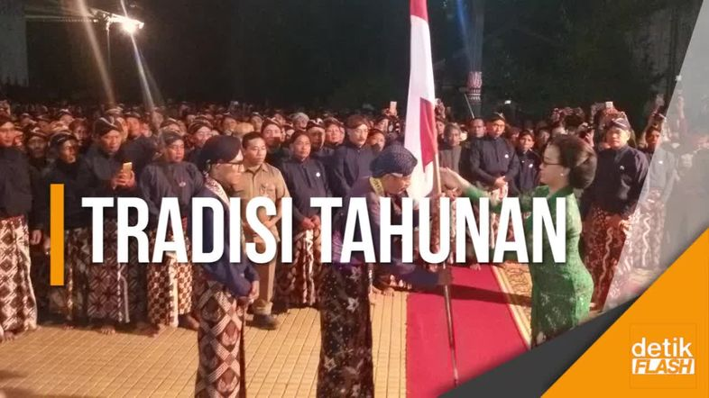 Begini Ritual Malam 1 Syuro di Keraton Yogyakarta