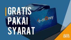 Biaya Top-up e-Money Gratis, Asalkan...