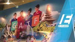 GATF 2017 Resmi Dibuka, Traveler Sesaki JCC Sejak Pagi