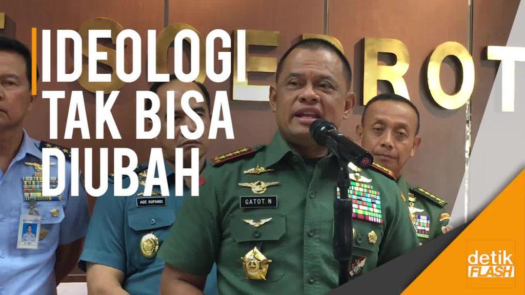 Film G30S/PKI Mau Diremake, Panglima TNI: Ideologi Tak Bisa Diubah