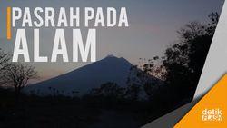 Menanti Puncak Gelegak Gunung Agung
