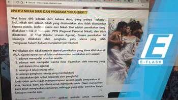 Kominfo Blokir Situs Lelang Perawan nikahsirri.com