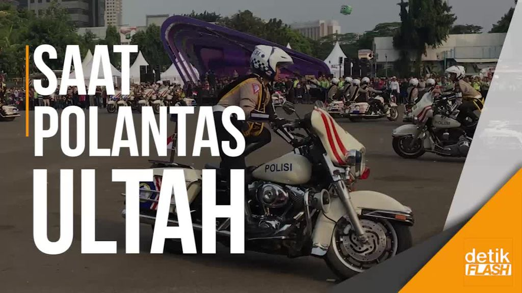 JKT48 Hingga Atraksi Polwan Meriahkan Hari Lalin Bhayangkara