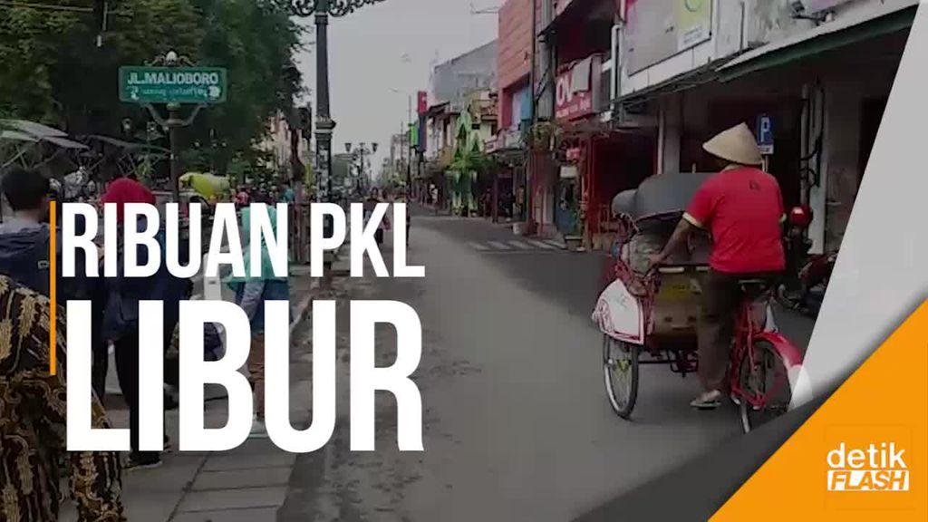 Saat Ribuan PKL di Jalanan Malioboro Yogya Raib