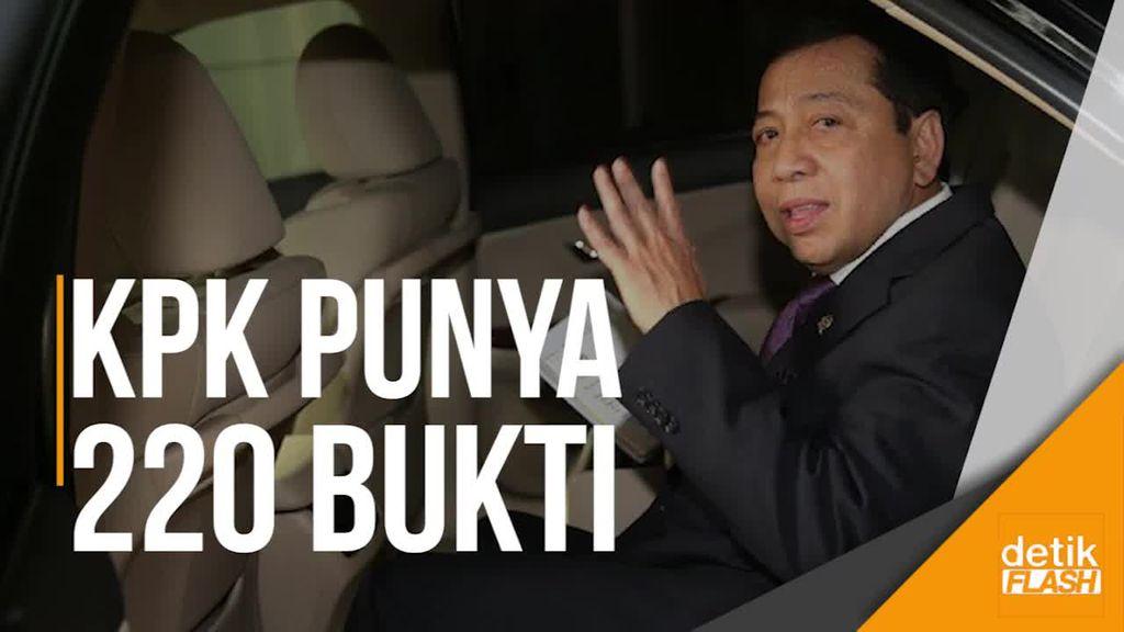 Ahli Anggap Penetapan Tersangka Novanto Tergesa-gesa, KPK Fight