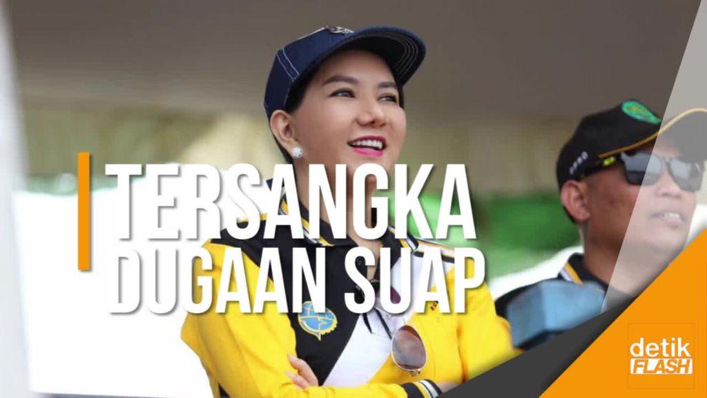 KPK Tetapkan Bupati Kukar Rita Widyasari Sebagai Tersangka