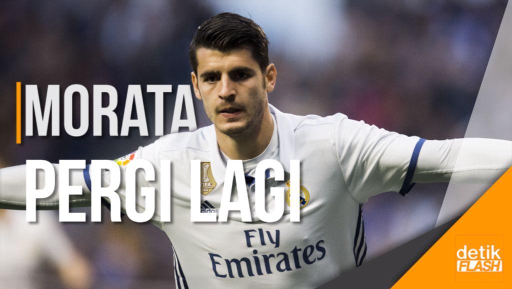 Tarik-Ulur Morata oleh Real Madrid
