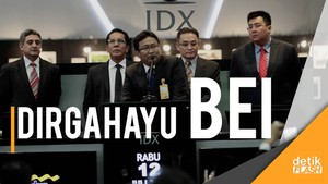 Bursa Efek Indonesia Rayakan Ultah ke-25