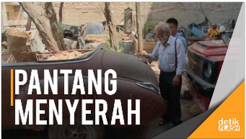Kisah Kolektor Mobil Antik di Wilayah Konflik Suriah
