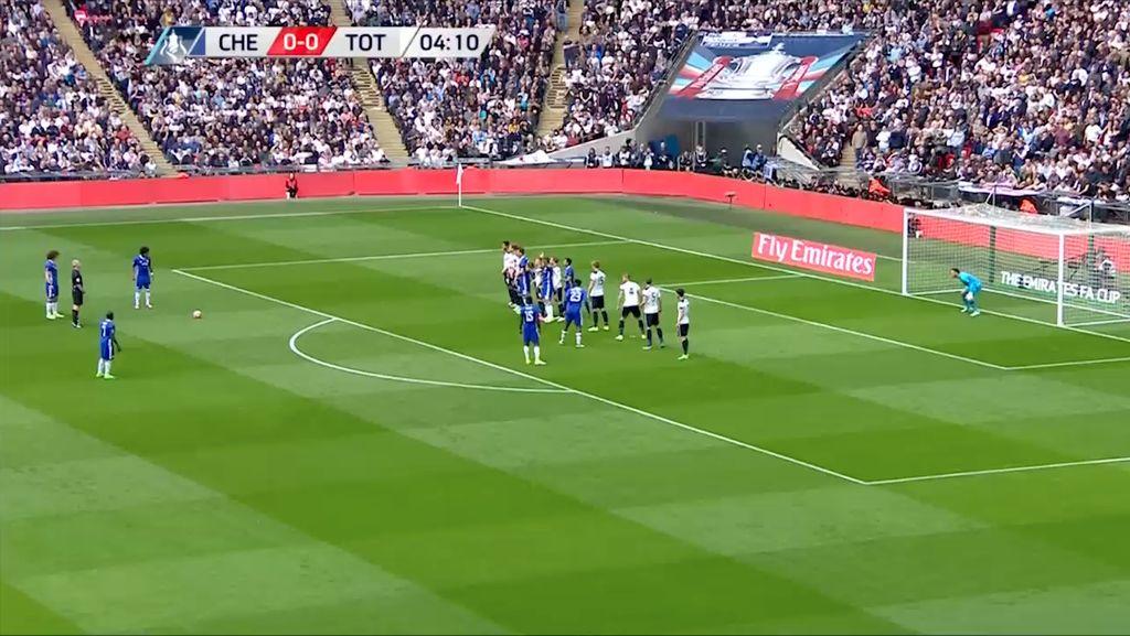 Highlight Semifinal Piala FA Chelsea 4-2 Spurs