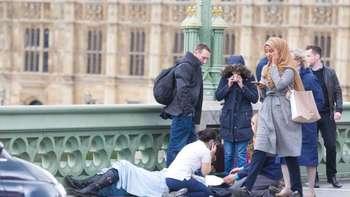 Foto Viral Teror di London Ini Jadi Kontroversi