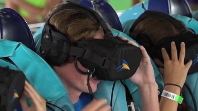 Ngeri! Roller Coaster Berpadu dengan Virtual Reality