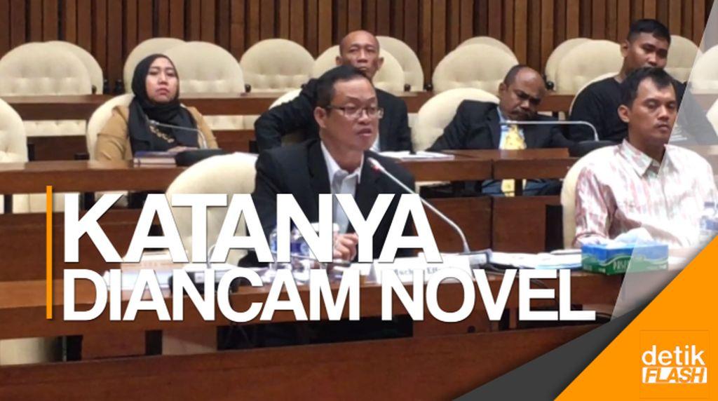 Terpidana Korupsi Muhtar Ependi Serang Novel Baswedan