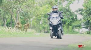 Menguji Performa Motor Roda Tiga Yamaha Tricity