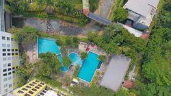 Aston Bogor, Hotel yang Dibelah oleh Sungai