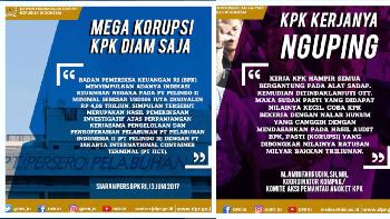 Akun Instagram DPR Kok Nyinyir KPK?