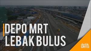 Melihat Perkembangan Depo MRT Lebak Bulus