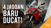 Empat Jagoan Anyar Ducati Siap Mengaspal
