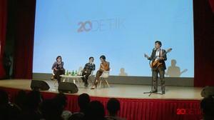 Sri Mulyani dan Bos Tokopedia Bicara Prospek Bisnis di Indonesia