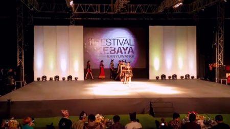 Keragaman Kebaya di Festival Banyuwangi