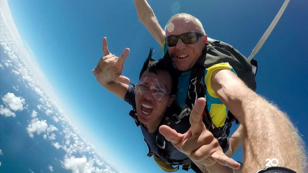 Diary detikTravel: Pengalaman Sky Diving