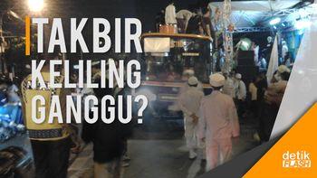 Polisi: Takbir Keliling Berpotensi Ganggu Keamanan