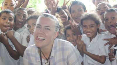 Cherie Colyer-Morris, Mahasiswi Australia yang Peduli Terumbu Karang Indonesia
