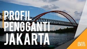 Mengenal Palangka Raya Calon Pengganti Jakarta