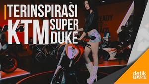 KTM Duke 390 dan 250 yang Futuristik