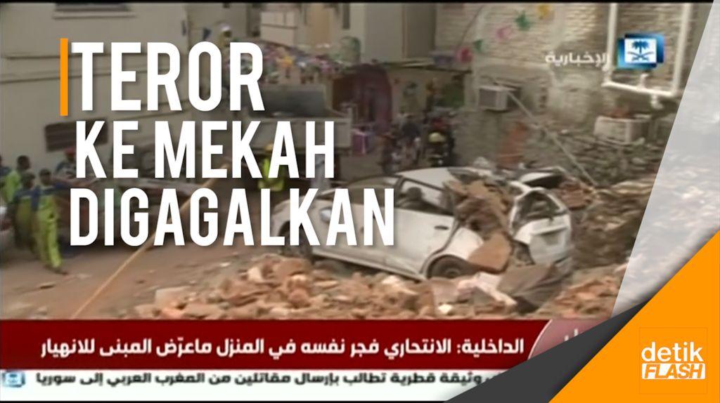 Upaya Bom Bunuh Diri ke Mekah Berhasil Digagalkan