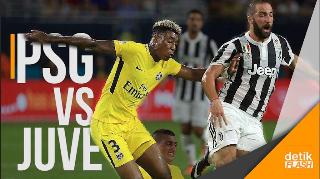 Kejar Mengejar Gol PSG dan Juventus