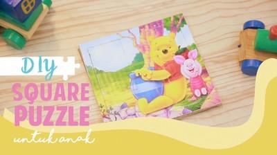 Lucunya Puzzle Kotak untuk Sang Buah Hati