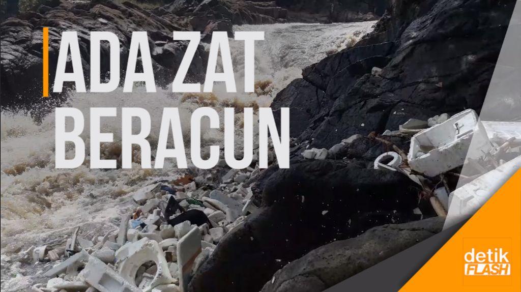Warning! Air Terjun Jompong Terkontaminasi Zat Berbahaya