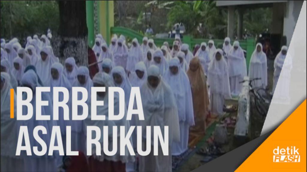 Ribuan Jemaah Naqsabandiyah Jombang Berlebaran Hari Ini