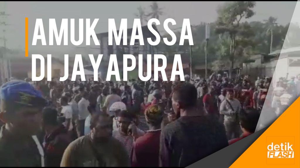 Terpicu Isu Pembakaran Kitab, Massa di Jayapura Ngamuk