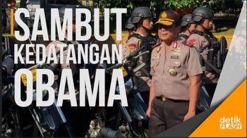 932 Personel Diterjunkan Sambut Kedatangan Obama di Jakarta