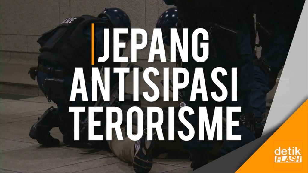 Polisi Jepang Gelar Simulasi Latihan Hadapi Aksi Terorisme