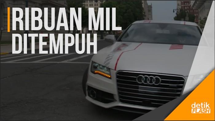 Ajib! Mobil Tanpa Sopir Pertama Melintas di New York
