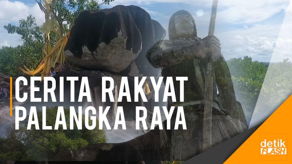 Cerita Rakyat Palangka Raya, Legenda Bukit Batu