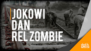 Jokowi Aktifkan Lagi Rel Zaman Belanda