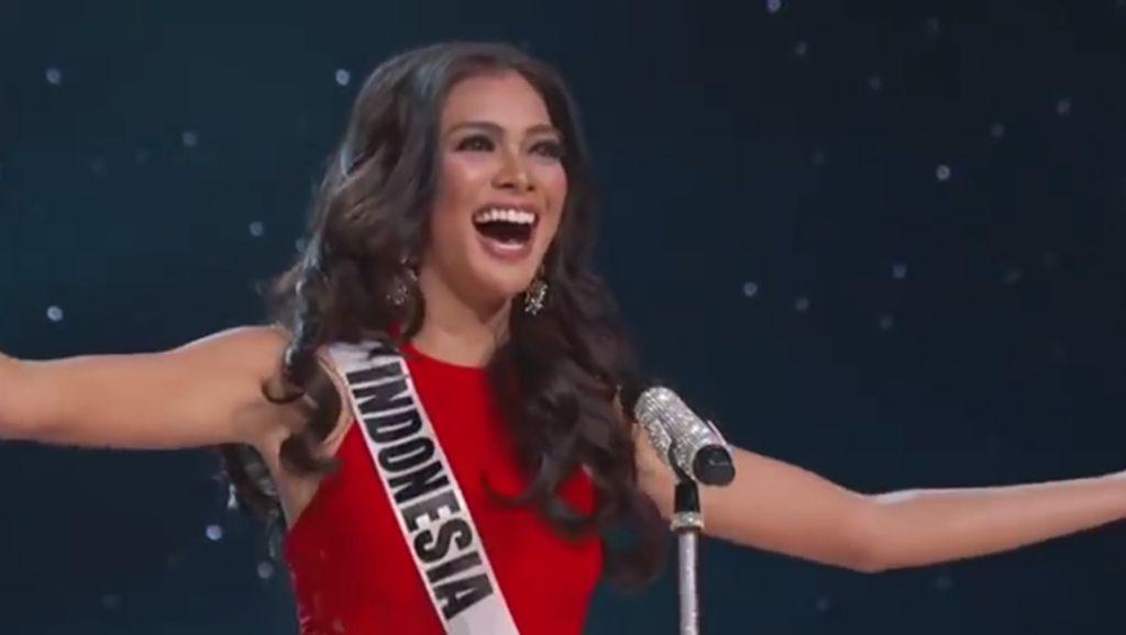 Puteri Indonesia Kezia Warouw Masuk 3 Besar Voting Miss Universe