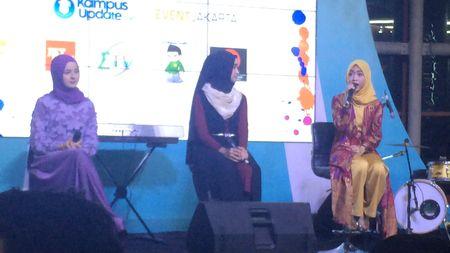 Pemenang Hijab Hunt Berbagi Tips Hadapi Haters di Ngumbar