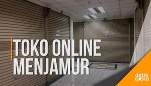 Pedagang Glodok Tergusur Toko Online