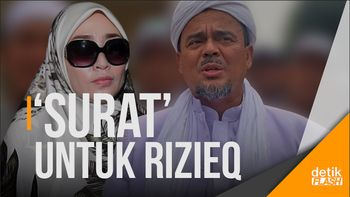Polisi akan Antar Surat Penangkapan Rizieq ke Rumahnya