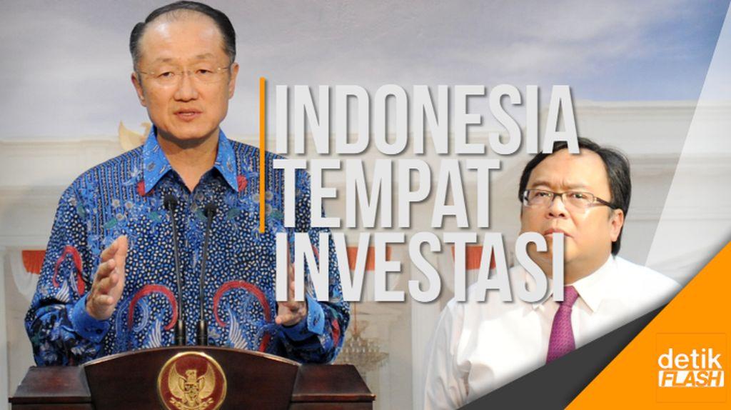 Bank Dunia Ingin Jadikan Indonesia Ladang Investasi