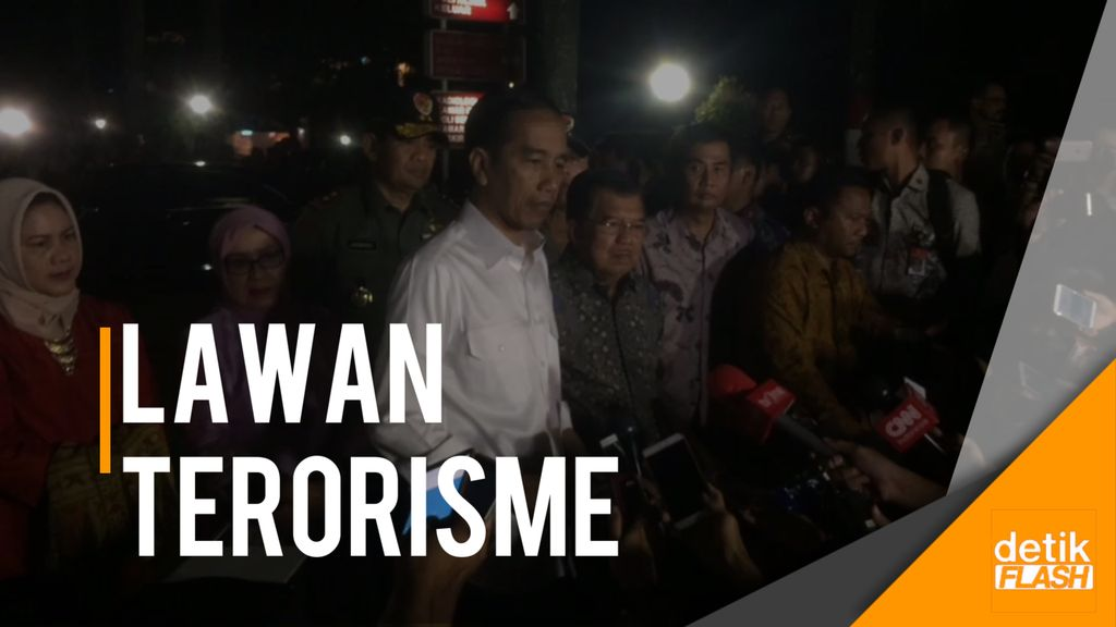 Presiden dan Wapres Datangi Lokasi Bom Kampung Melayu