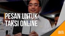 Pesan Presiden Jokowi untuk Transportasi Online